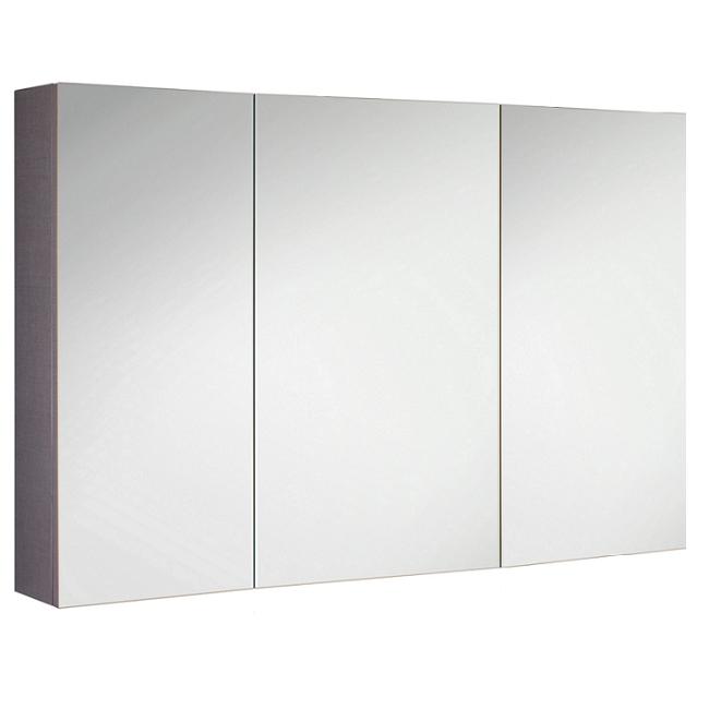 Armoire de toilette swing box 100cm 3 portes double miroir Boitier relevant pour double porte de meuble cuisine