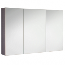Armoire de toilette swing box 120cm 2 portes double miroir for Cube miroir habitat