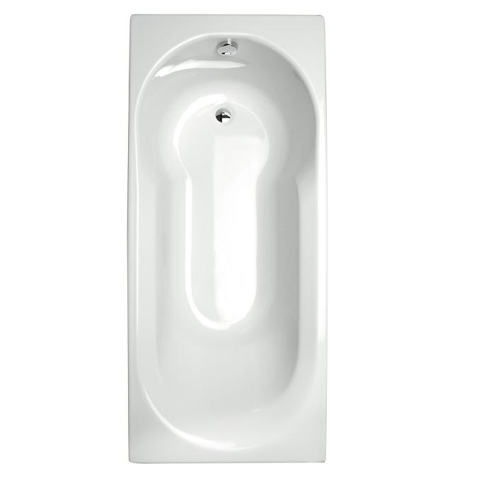 baignoire rectangulaire twinside 170x80cm toplax blanc. Black Bedroom Furniture Sets. Home Design Ideas