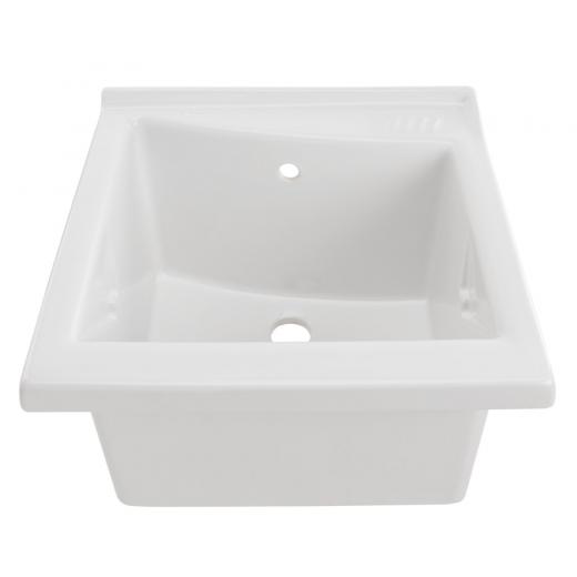 bac laver blink 64x61cm blanc sanindusa r f 108640. Black Bedroom Furniture Sets. Home Design Ideas