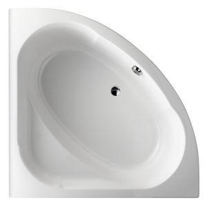 baignoire d 39 angle domo 135x135 acrylique avec ch ssis autoportant blanc jacob delafon r f. Black Bedroom Furniture Sets. Home Design Ideas
