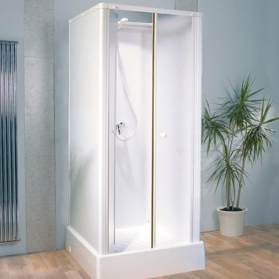 Cabine de douche delta 80x80 portes pivotantes kinedo for Porte de douche 80x80