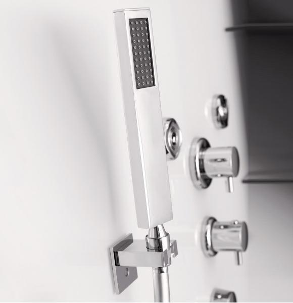Cabine de douche horizon niche 90x90 faible hauteur porte for Porte de douche 90x90