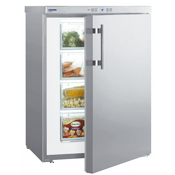 Cong lateur armoire 104l a 60cm inox liebherr r f gpesf1476 - Congelateur armoire professionnel ...