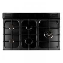 Cuisinière mixte 110cm Falcon New Classic Noir Chromé CLA110DFBL/C-EU 3 fours électriques / 6 foyers gaz