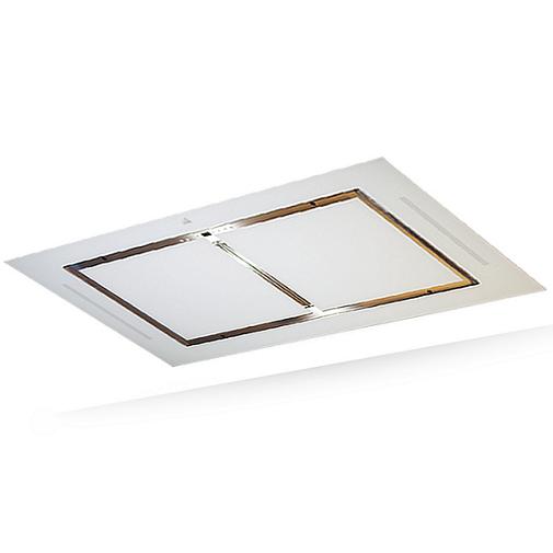 hotte de plafond confidence 100cm 839m3 h verre blanc roblin r f 6209263. Black Bedroom Furniture Sets. Home Design Ideas