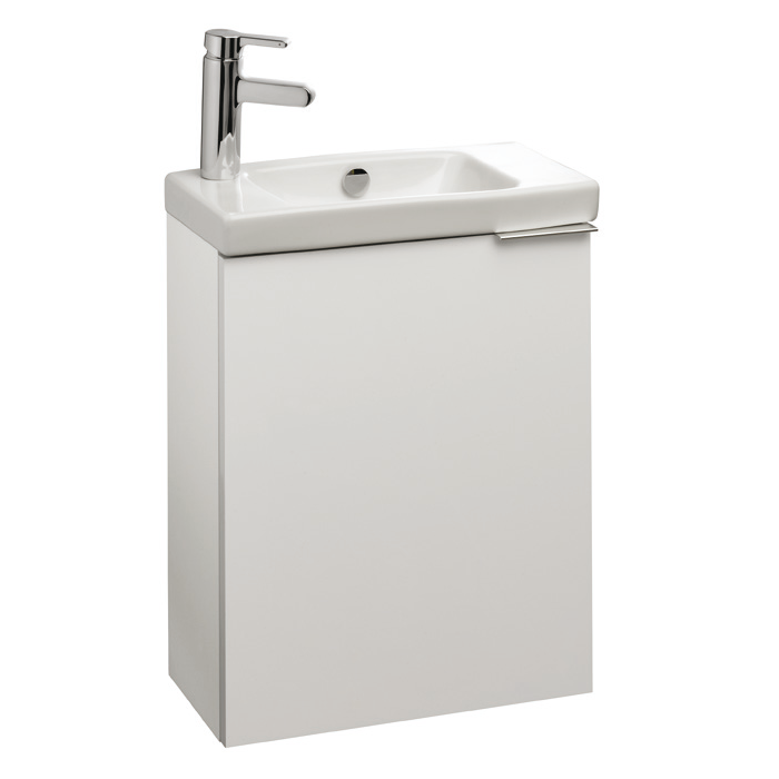 Meuble sous lave mains od on up l 48 5 1 porte m lamin for Meuble sous lave mains