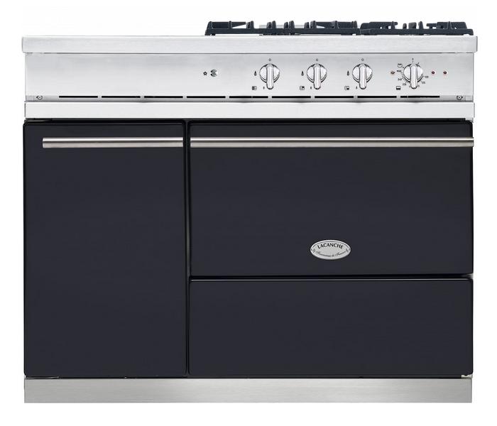 Piano de cuisson lacanche chassagne modern four gaz - Plaque cuisson gaz 3 feux ...
