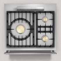 Piano de cuisson lacanche cormatin 1 four gaz plaque de - Table cuisson gaz 3 feux ...