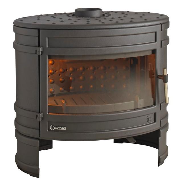 po le bois invicta angor 6186 44 12kw anthracite. Black Bedroom Furniture Sets. Home Design Ideas