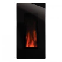 Poêle/cheminée insert électrique Studio 22 67.5cm façade Glass - GAZCO Réf. 223-557EU