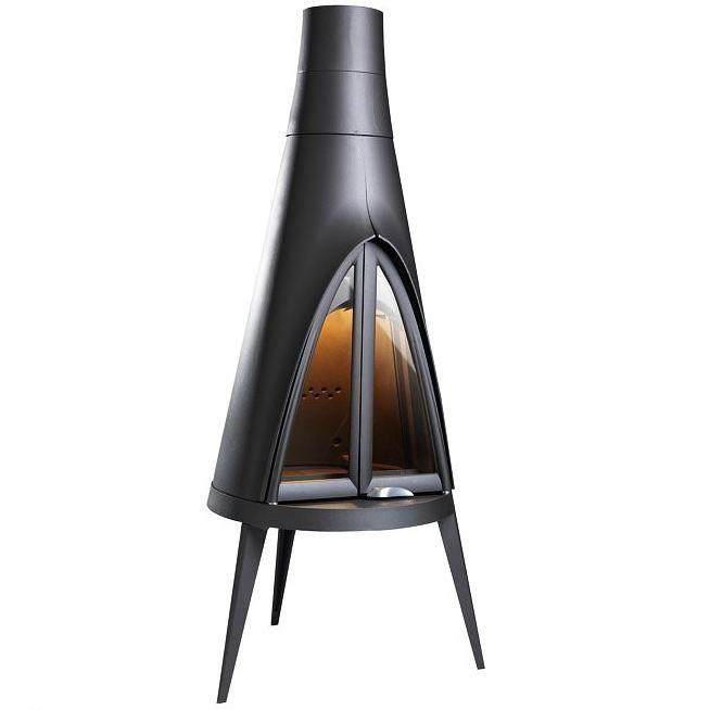 po le chemin e invicta pow wow 6152 44 14kw anthracite. Black Bedroom Furniture Sets. Home Design Ideas