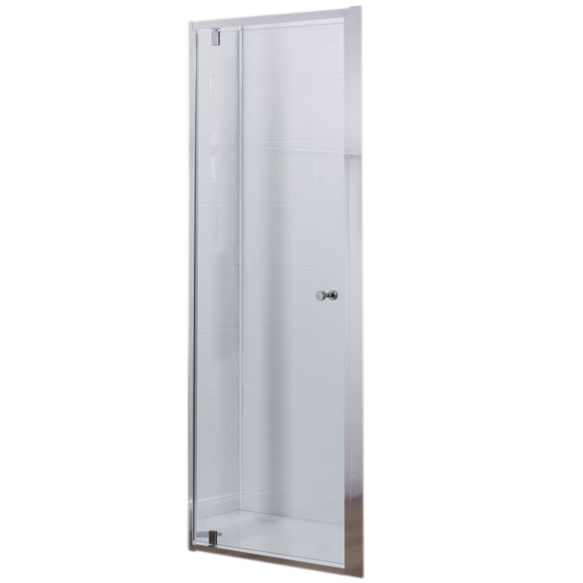 Porte pivotante serenity 90cm verre transparent profil chrome jacob delafon r f e14p90 ga - Paroi de douche jacob delafon ...