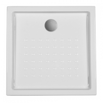 Receveur à encastrer Mosaïco 75x75x12cm Blanc - SANINDUSA Réf. 800240