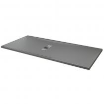 receveur extra plat novellini custom gris. Black Bedroom Furniture Sets. Home Design Ideas