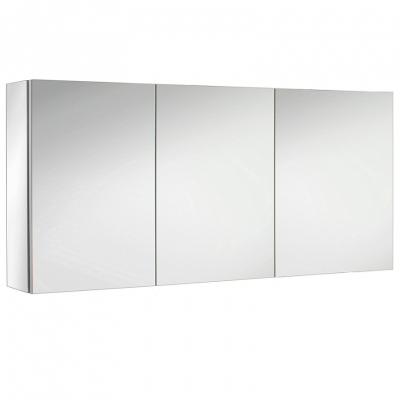 Armoire de toilette Ice Box 130cm 3 portes Miroir ...