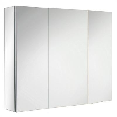 armoire de toilette ice box 80cm 3 portes miroir double. Black Bedroom Furniture Sets. Home Design Ideas