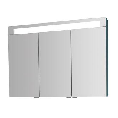 armoire de toilette elite 75cm 3 portes miroir 28. Black Bedroom Furniture Sets. Home Design Ideas