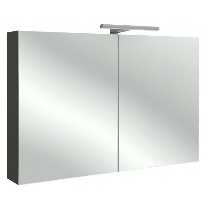 Armoire De Toilette 105cm 2 Portes Avec éclairage Led