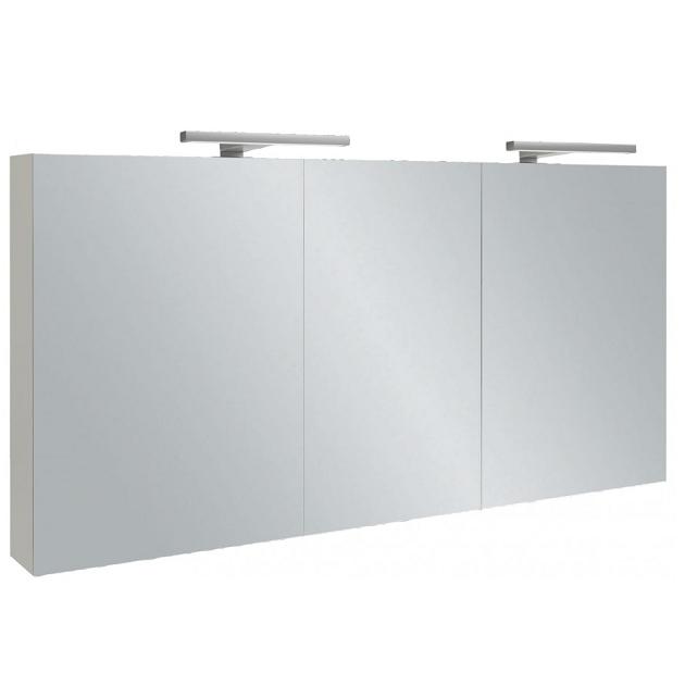 armoire de toilette 130cm 3 portes avec clairage led. Black Bedroom Furniture Sets. Home Design Ideas