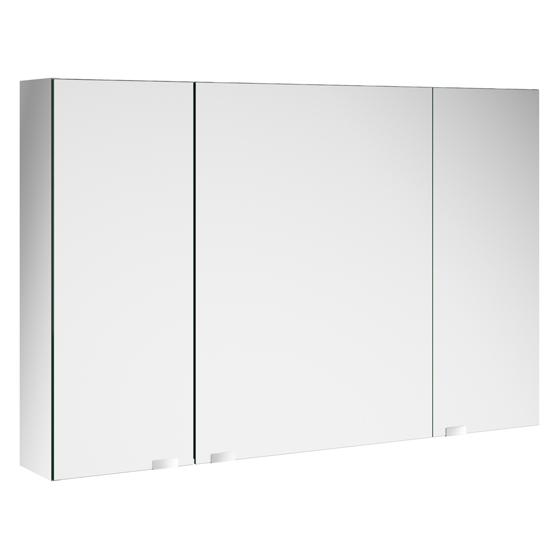 armoire de toilette alliance 120x65cm 3 portes miroir salgar r f 24596. Black Bedroom Furniture Sets. Home Design Ideas