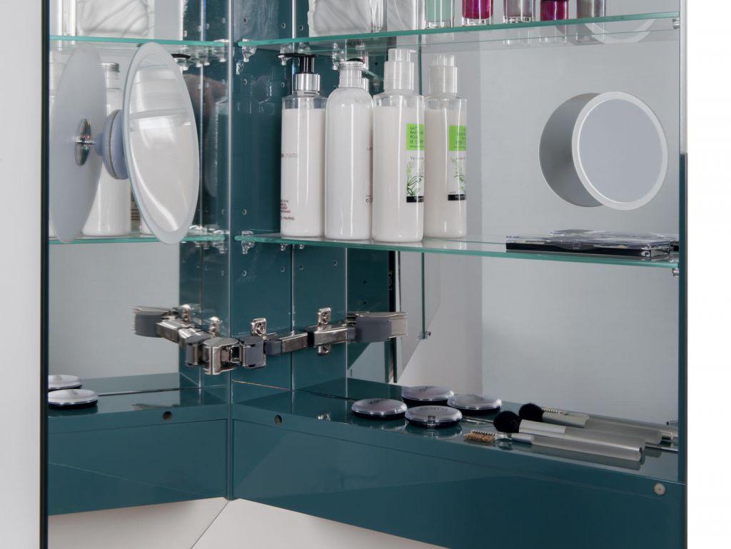 armoire de toilette elite 75cm 3 portes miroir coloris au choix decotec r f 1307001. Black Bedroom Furniture Sets. Home Design Ideas