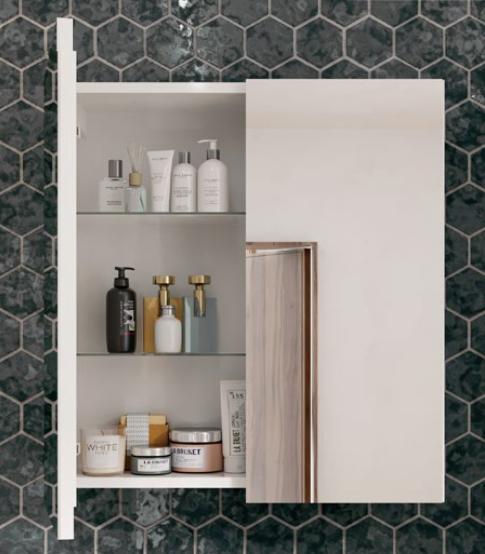 Armoire de toilette XENA 120cm 3 portes - Aquarine Réf. 826175