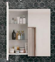 Armoire de toilette XENA 40cm 1 porte - Aquarine Réf. 826171