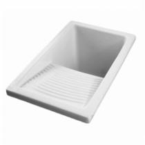 Bac à laver Riba 39x60.5cm Blanc - SANINDUSA Réf. 108600