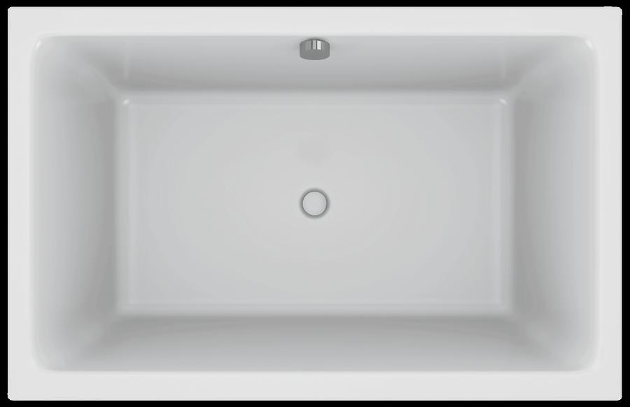 baignoire acrylique capsule 120x80cm blanc jacob delafon. Black Bedroom Furniture Sets. Home Design Ideas