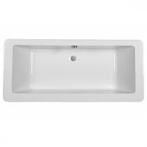 Baignoire acrylique Vintage 180x80cm Blanc - SANINDUSA Réf. 803400