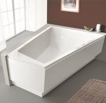 baignoire asym trique trap zo dale 180x140cm version. Black Bedroom Furniture Sets. Home Design Ideas