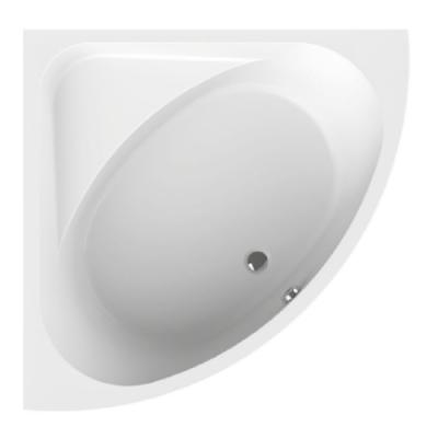 Baignoire D Angle Frisbee 145x145cm Blanc Leda Ref L16frq14501