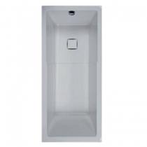 Baignoire-douche Space Line 170x75cm Blanc avec support autoportant - LEDA Réf. L16SL3D0201