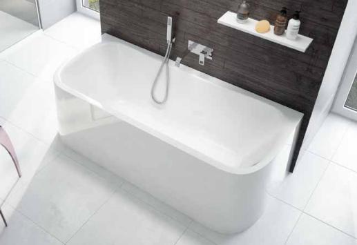 baignoire garbo 180x80cm avec tablier int gr blanc leda r f l16gam0201. Black Bedroom Furniture Sets. Home Design Ideas