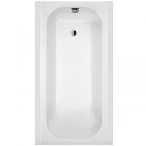 Baignoire rectangulaire Frisbee 120x70cm Blanc - LEDA Réf. L16FR3R0101