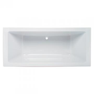 baignoire rectangulaire plan 190x90cm acrylique blanc. Black Bedroom Furniture Sets. Home Design Ideas