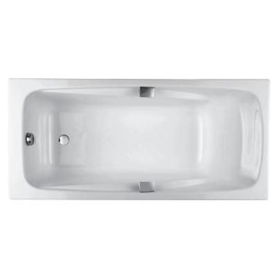 Baignoire Rectangulaire Repos 160 X 75 Fonte Emaillee Percee Pour
