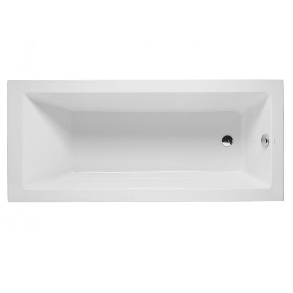 Baignoire rectangulaire Vértice 170x70cm acrylique Blanc - SANINDUSA Réf. 805800