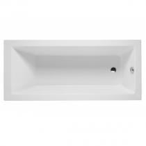 Baignoire rectangulaire Vértice 175x80cm acrylique Blanc - SANINDUSA Réf. 806000