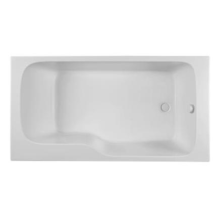 bain douche malice 170x90cm version droite blanc jacob delafon r f ce6d065r 00. Black Bedroom Furniture Sets. Home Design Ideas