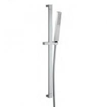 Barre de douche Prisma avec douchette Pixel Chromé - GRB Réf. 05035006