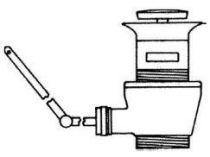 Bonde de vidage pour lavabo et bidet Chrome - JACOB DELAFON Réf. E78219-CP