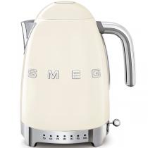 Bouilloire avec réglage de la température Années 50 Crème - SMEG Réf. KLF04CREU