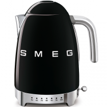 Bouilloire avec réglage de la température Années 50 Noir - SMEG Réf. KLF04BLEU