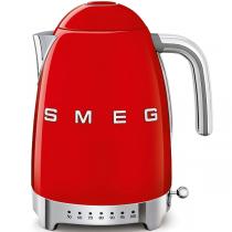 Bouilloire avec réglage de la température Années 50 Rouge - SMEG Réf. KLF04RDEU