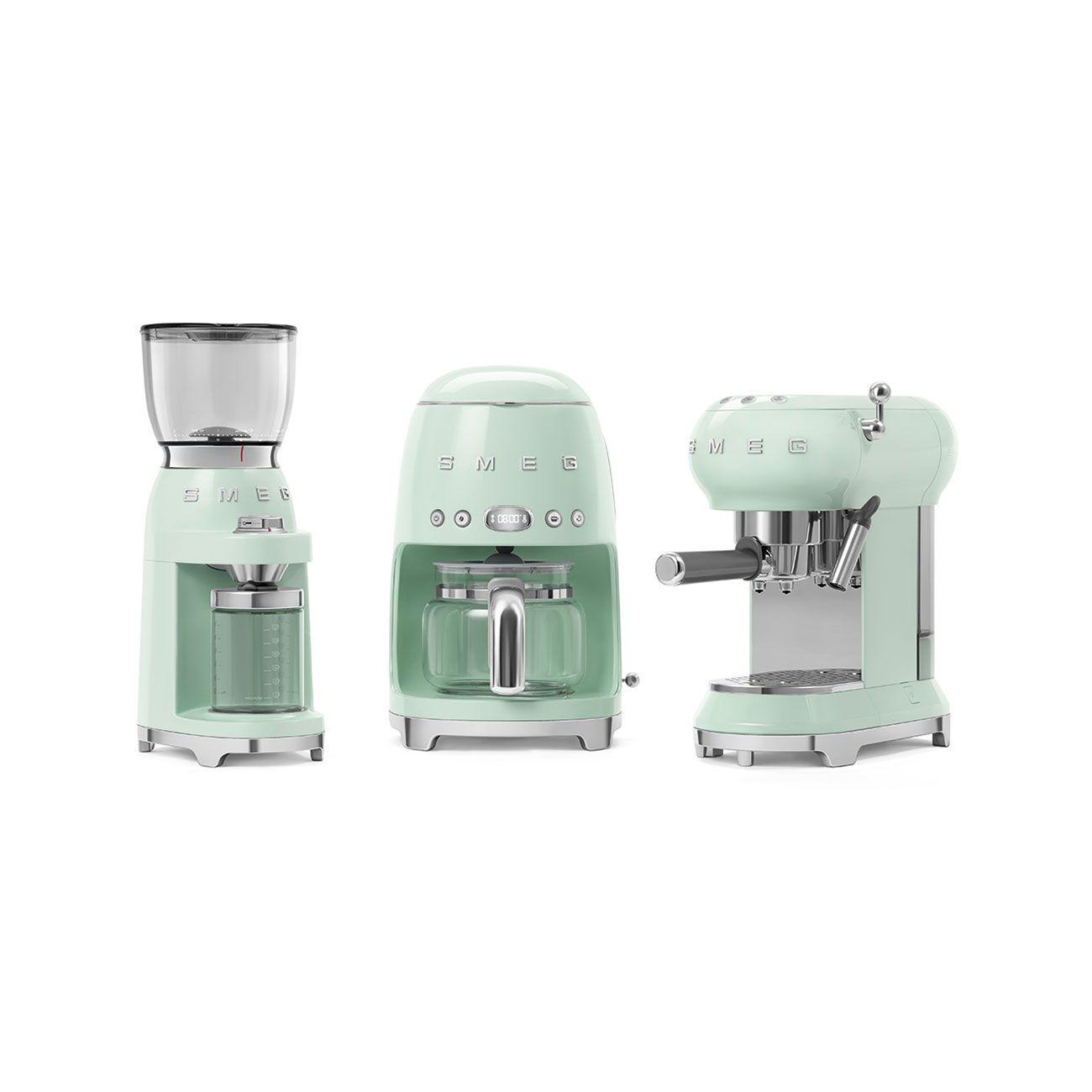 Broyeur à café 150W Années 50 Vert d\'eau - SMEG Réf. CGF01PGEU
