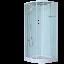 Cabine de douche Lilo 90x90cm Blanc - OZE Réf. LILO90BTSH