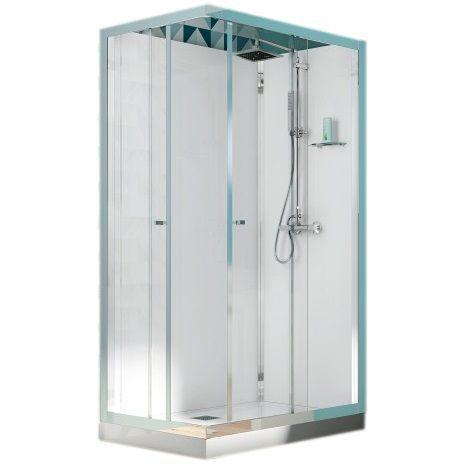 cabine de douche rectangulaire 120x90