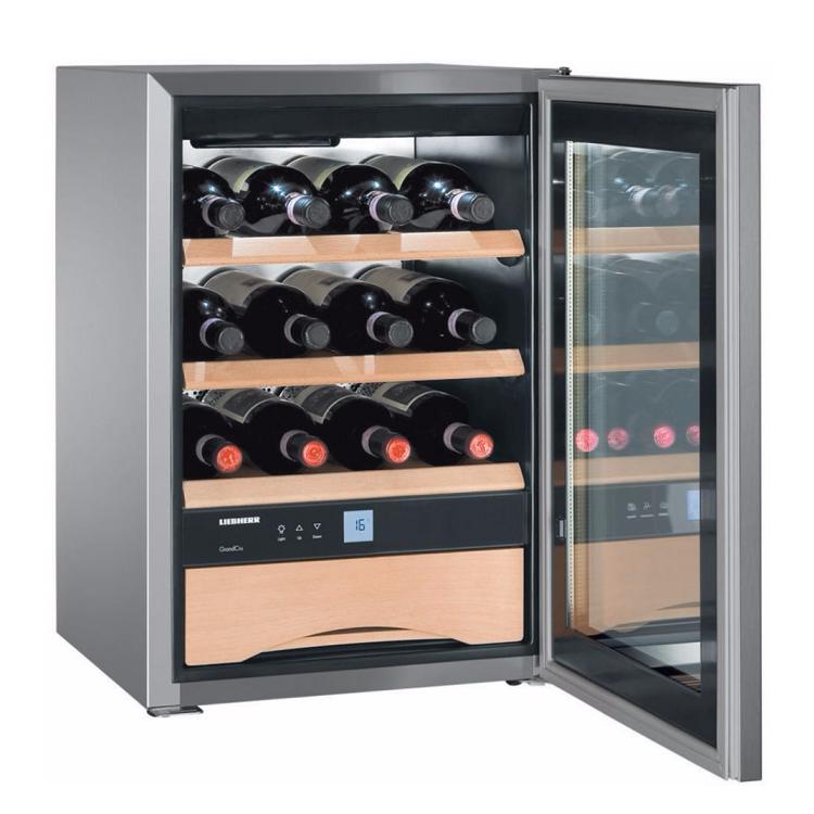 cave vin de vieillissement 12 bouteilles a inox. Black Bedroom Furniture Sets. Home Design Ideas
